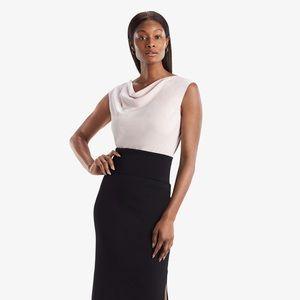 New MM Lafleur Womens Harlem Skirt Black Size XL